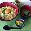 三木よかわカントリークラブレストラン - 料理写真:2016.8.5  親子丼とちょっと蕎麦