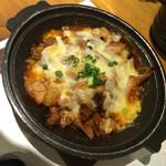 相仙 - 豚キムチのチーズ焼き