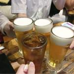 シャンウェイ - 乾杯です♪