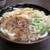 立花うどん - 料理写真:肉・ごぼううどん \650