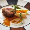 マダム・トキ - 料理写真:仔羊背肉のロティ  タイムの香るジュとクレームダイユ