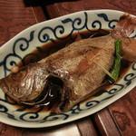 なる美寿司 - のどぐろの煮付け