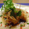 ブルーパパイヤ - 料理写真:絶品クンガティアム(海老にんにく揚げ) 600円
