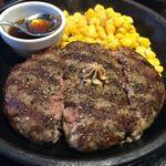 いきなりステーキ - (H28.6)ワイルドハンバーグ