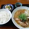 瓢華 - 料理写真:中華そば定食、ランチタイムのサービス価格650円。