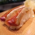 鮨の魚政 - 070925魚政かんぱち.jpg
