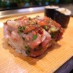 鮨の魚政 - 070925魚政ネギトロ.jpg
