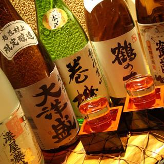 期間限定地酒あり!新潟の蔵元直送の地酒を楽しめる