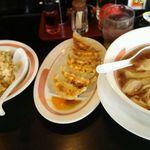 幸楽苑 - 豚バラチャーシュー麺+ミックスセット