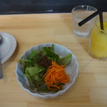 リトルクックー - ランチのドリンク&サラダセット(追加料金 税込200円)