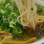 たかばしラーメン - この麺の大ファンです!