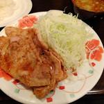 洗濯船 - 生姜焼き