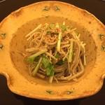 由庵 矢もり - ⑥蕎麦のサラダ仕立て(胡麻和え)