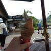 水辺のカフェ - 料理写真:プレミアムソフトクリーム(紅茶+ミルク)