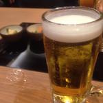 もつ鍋 一藤 - 焼酎のお国でもまずビールで