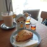 Chigaya - 料理写真:レモンスコーンとアイスチャイ