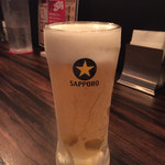 Red Rock - 160806 生ビール