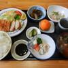 なんじゃもんじゃ - 料理写真:とんかつ定食(ご飯大盛り)
