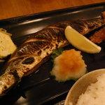 とらひげ - サンマ定食