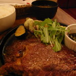 とらひげ - ステーキ定食