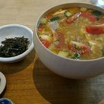 54530545 - 10種野菜の雑炊
