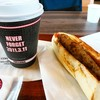 マザーポートコーヒー - 料理写真:ホットドックにフルセイルブレンド