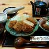 かつ義 - 料理写真:「ひれかつと豆腐カツセットの定食」