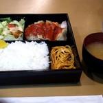 エンリコ - チキンのトマトソース(火曜) ライス大盛 850円 2016/07/26