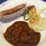 レストラン ストックホルム - スモーガスボードランチ(¥3,000) ソーセージとビーフシチュー
