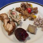 レストラン ストックホルム - スモーガスボードランチ(¥3,000) 肉料理