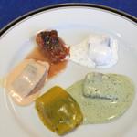 レストラン ストックホルム - スモーガスボードランチ(¥3,000) 酢漬けニシン各種