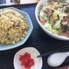 豊福亭 - 料理写真:ちゃんぽんとチャーハンのセット(750円)