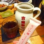 シャンウェイ - 紹興酒二号  1890円   偶然お会いしたレビュアーさんのお土産と共に(笑)