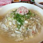 バーミヤン - 料理写真:蟹あんかけチャーハン
