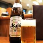 ゲンジ - ビールはアサヒ! (^_^)b