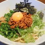 麺者 風天 - 汁なし辛肉まぜそば(2016年8月)