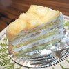 ビゴの店 オ・プティ・フリアンディーズ - 料理写真:2016.8 桃のショートケーキ