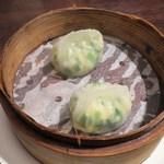 チャイナムーン - ニラ入り海鮮蒸し餃子(2名分)