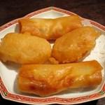 チャイナムーン - 海老入りプリプリ春巻き、大根餅の衣揚げ(2名分)