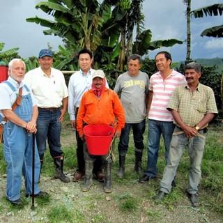 自慢の契約農園産コーヒー