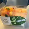 京橋千疋屋 - 料理写真:マンゴーと白桃