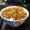 清平 - 料理写真:カツカレーうどん☆