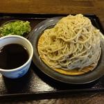 蕎麦切塩釜 - 二八せいろ830円(税込)