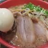 IPPUDO TAO - 料理写真:TAO味噌820円+玉子80円+野菜増し100円。 濃厚な赤味噌仕立てだそうです。 赤味噌なので、かなりコクがあります。