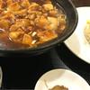 張記東北餃子房 - 料理写真:麻婆麺セット(780円)
