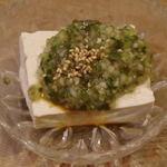 大島や - 山形だし豆腐。これは旨い。渋いツマミです。