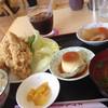 レストランぶぉーの - 料理写真:ぶぉーの凮からあげセット(税込650円)に100円ドリンク(アイスコーヒー)を付けました。
