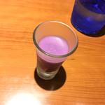 コラボ - 紫芋の冷製スープ