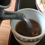 山河 - 蕎麦湯