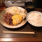 大阪トンテキ - とんたま定食